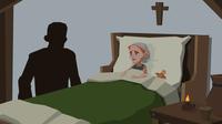 Pest sketches krankenbett