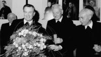 Karl lehmann feier nach wahl zum vorsitzenden der dbk
