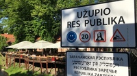 Uzupis schild2