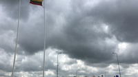 Flaggen grenze litauen