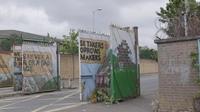 Peace wall gate